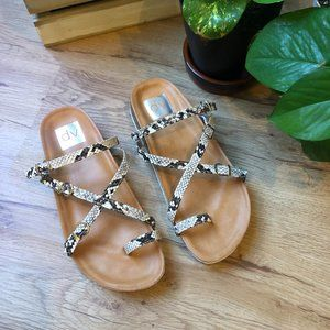 DV Dolce Vita Boudicca Natural Strappy Sandal
